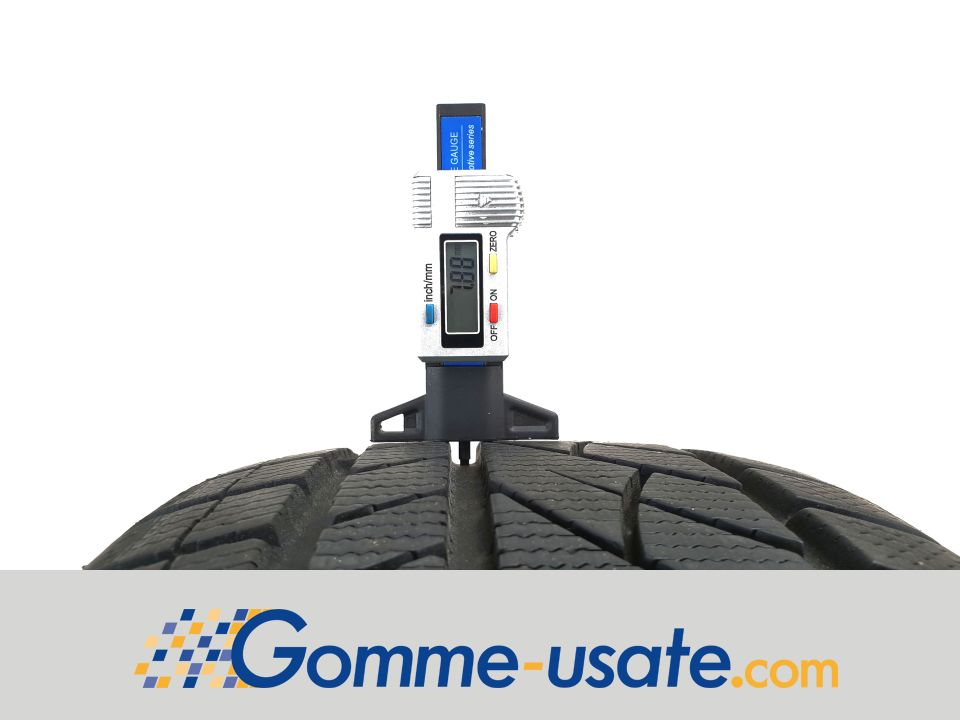 Gomme Usate Jinyu Tyres 215/45 R17 87H Winter YW52 RPB M+S (95%) pneumatici usati Invernale