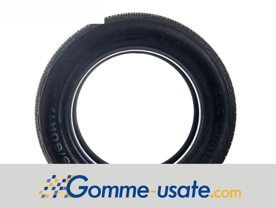 Thumb Continental Gomme Usate Continental 225/60 R17 99H 4x4 Contact M+S (80%) pneumatici usati Estivo_1