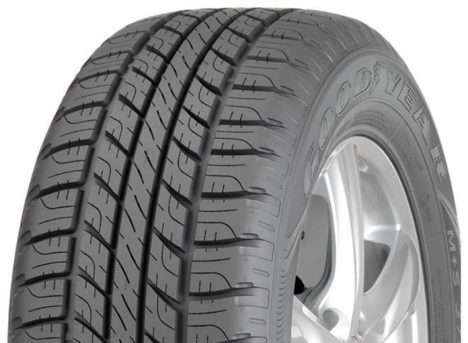 Gomme Nuove Goodyear 255/65 R17 110T Wrangler HP All Weather M+S pneumatici nuovi All Season
