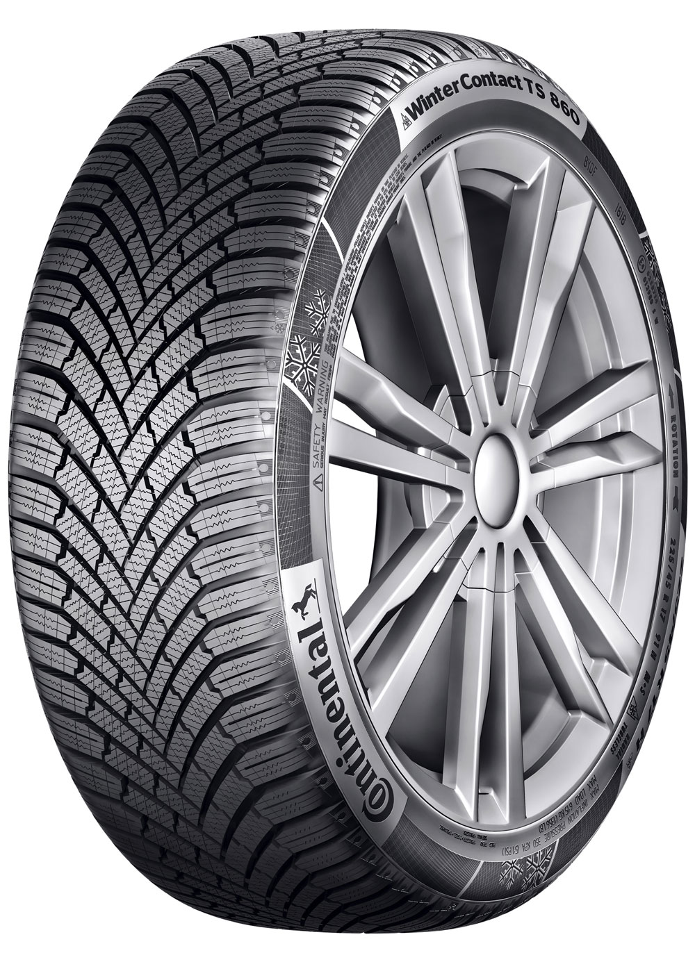 Gomme Nuove Continental 205/60 R15 91H TS 860 M+S (100%) pneumatici nuovi Invernale