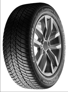 Gomme Nuove Cooper Tyres 225/55 R17 101W DISC.ALLSEASON M+S pneumatici nuovi All Season