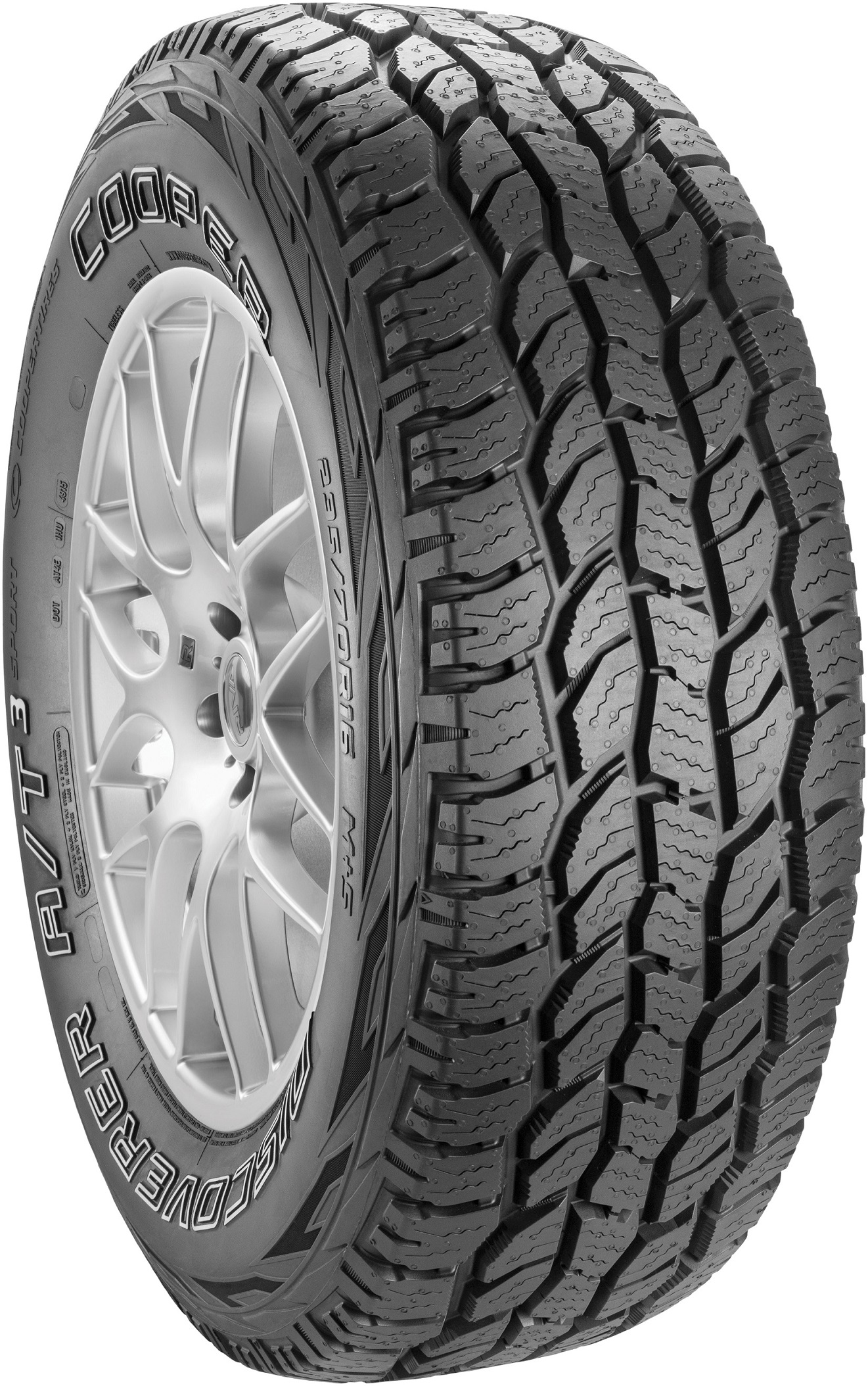 Gomme Nuove Cooper Tyres 265/60 R18 110T DISCOVERER AT3 SP2 pneumatici nuovi Estivo