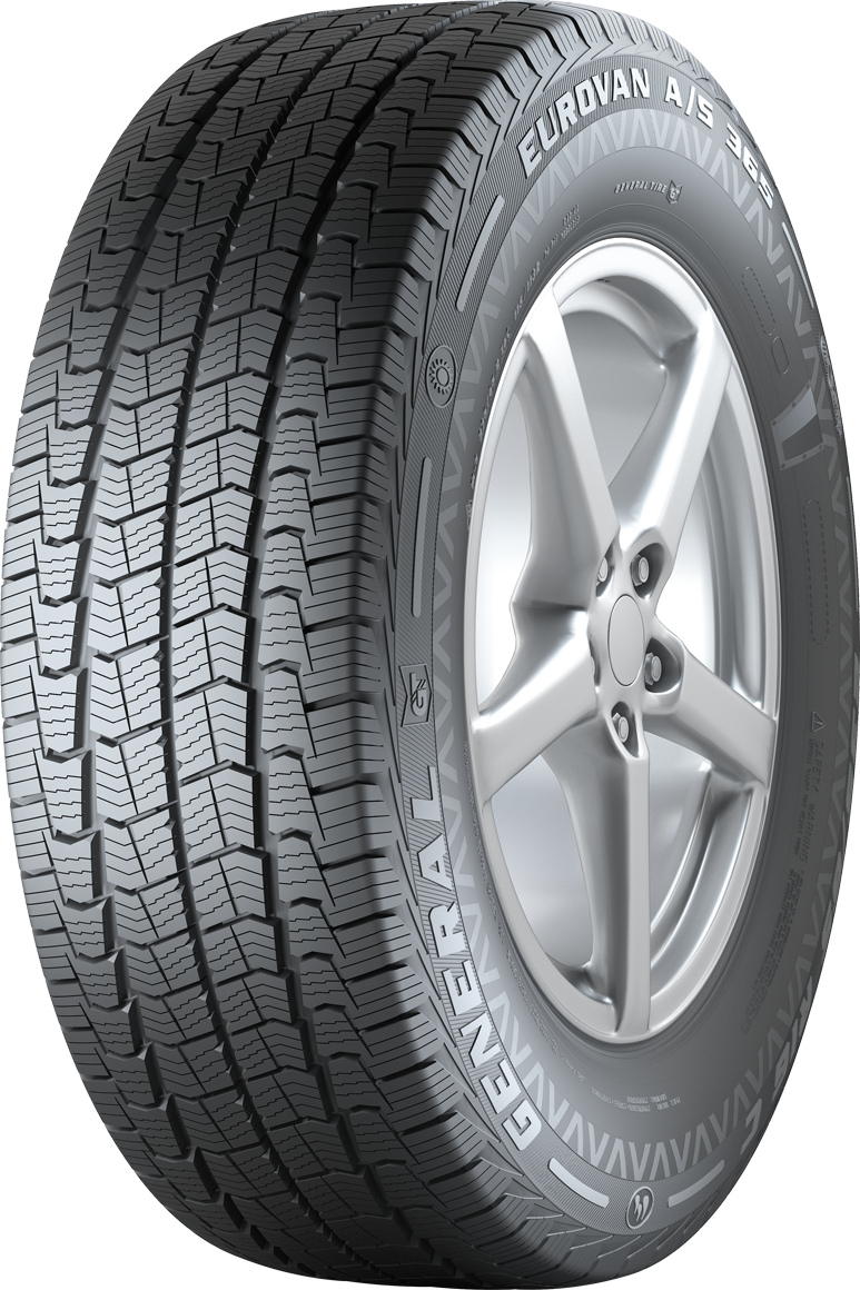 Gomme Nuove General Tire 215/75 R16C 113/111R EUROVAN A/S 365 M+S pneumatici nuovi All Season