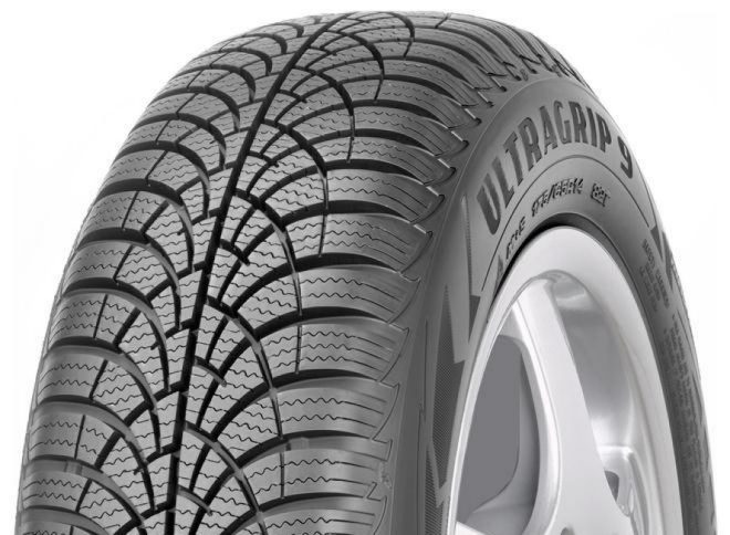 Gomme Nuove Goodyear 195/60 R16 93H UG 9 XL M+S pneumatici nuovi Invernale