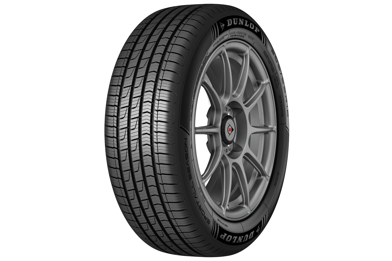 Gomme Nuove Dunlop 185/60 R14 82H SPALLSEASON M+S pneumatici nuovi All Season