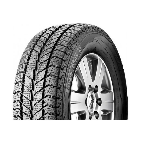 Gomme Nuove Uniroyal 195/60 R16C 99/97T Snow Max 2 M+S pneumatici nuovi Invernale