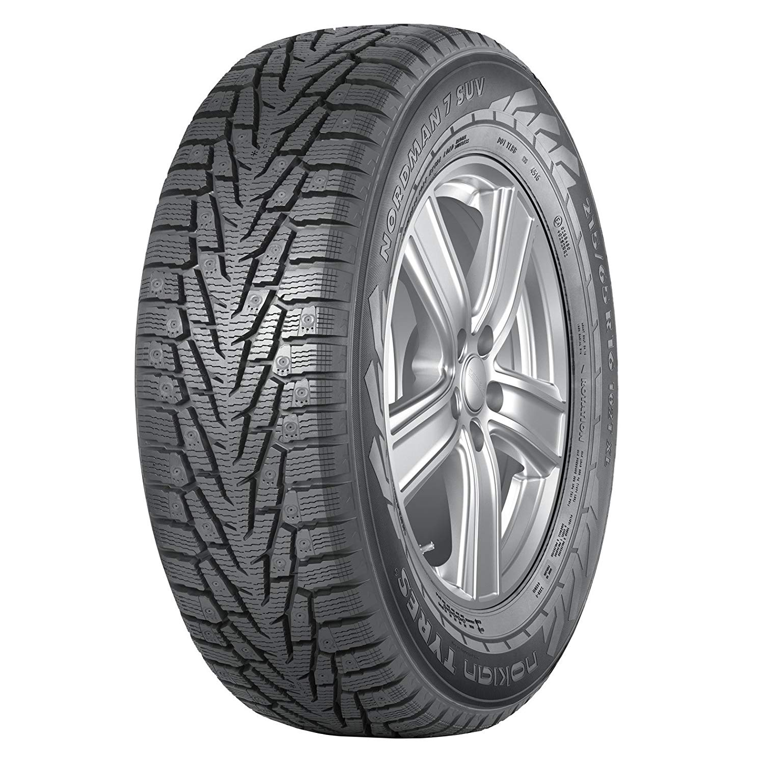 Gomme Nuove Nokian 205/55 R16 94T NORDM7 STUDDED M+S pneumatici nuovi Invernale