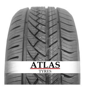 Gomme Nuove Atlas 215/75 R16C 113R GREEN VAN 4S M+S pneumatici nuovi All Season