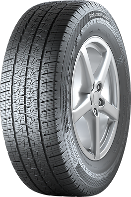 Gomme Nuove Continental 225/55 R17C 109/107H VanContact 4Season M+S pneumatici nuovi All Season