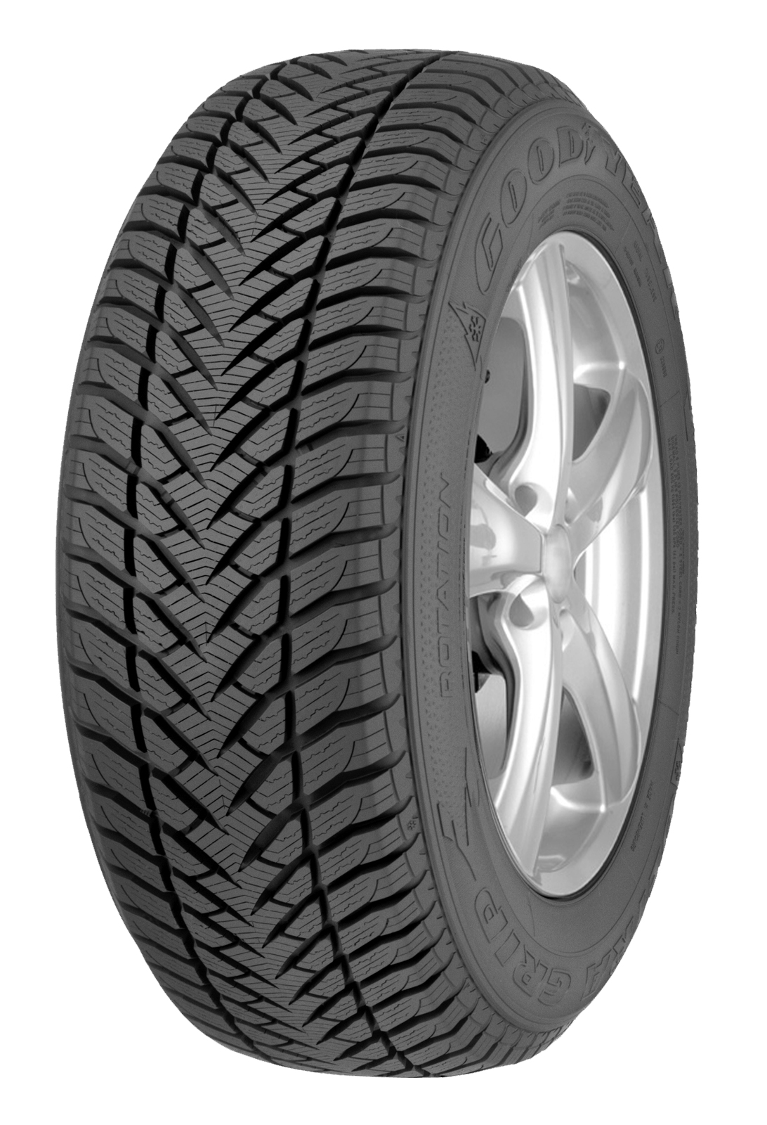 Gomme Nuove Goodyear 255/55 R18 109H ULTGRI * FP M+S pneumatici nuovi Invernale