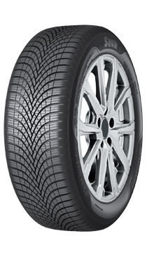 Gomme Nuove Sava 225/65 R17 102H All Weather M+S pneumatici nuovi All Season