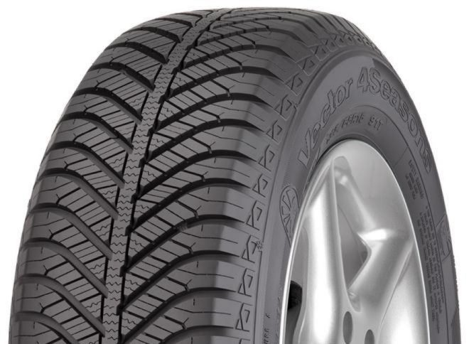 Gomme Nuove Goodyear 175/65 R14C 90/88T Vector 4Season M+S pneumatici nuovi All Season