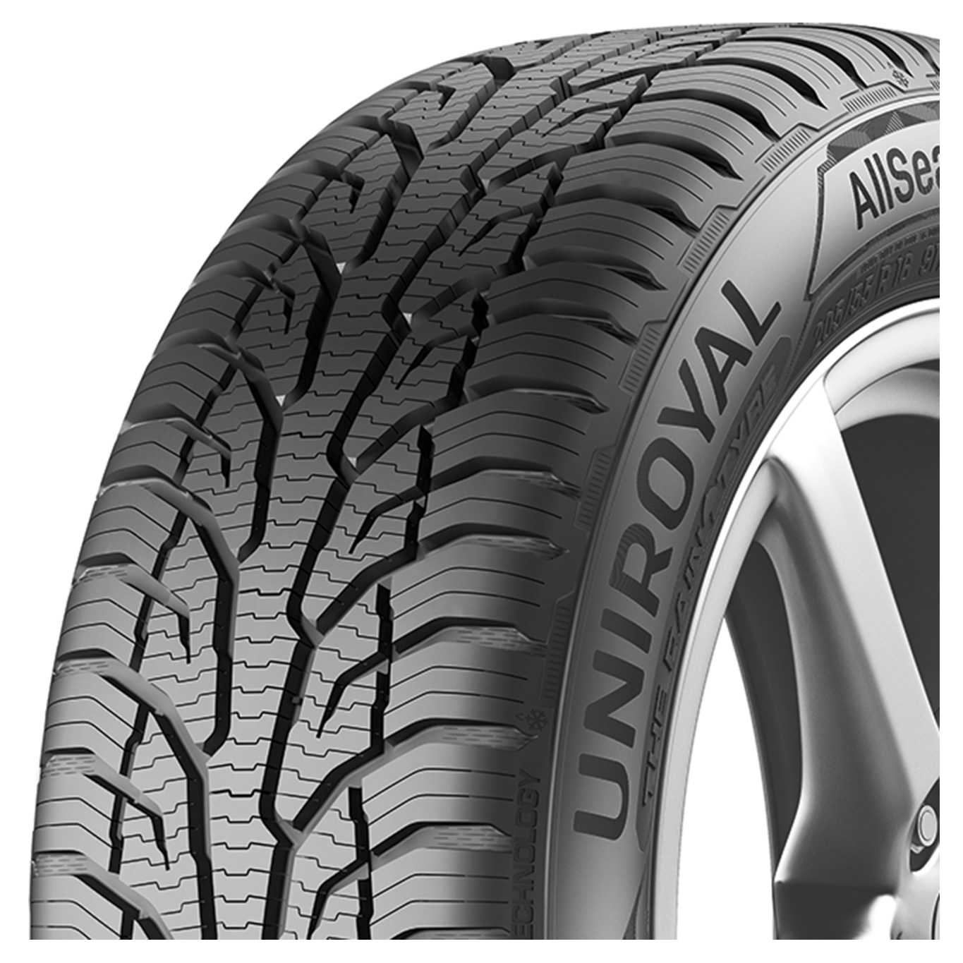 Gomme Nuove Uniroyal 235/60 R18 107V AS EXPERT 2 XL M+S pneumatici nuovi All Season