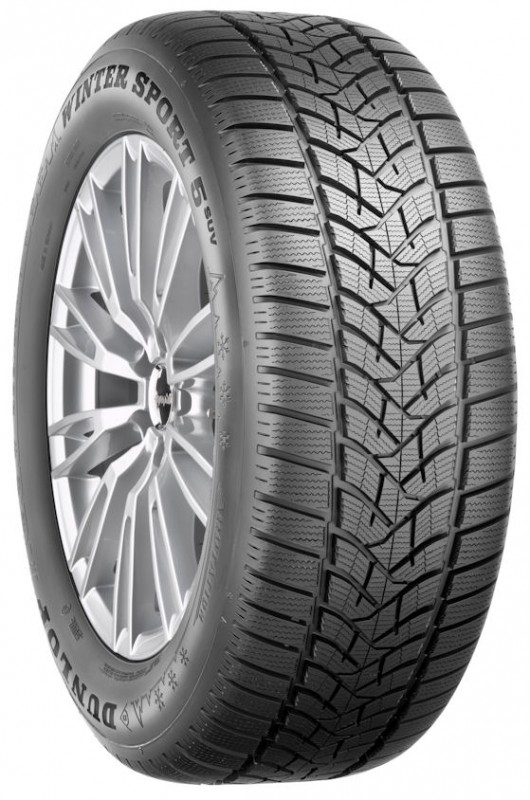 Gomme Nuove Dunlop 195/55 R16 87H SP WIN SPT 5 M+S pneumatici nuovi Invernale