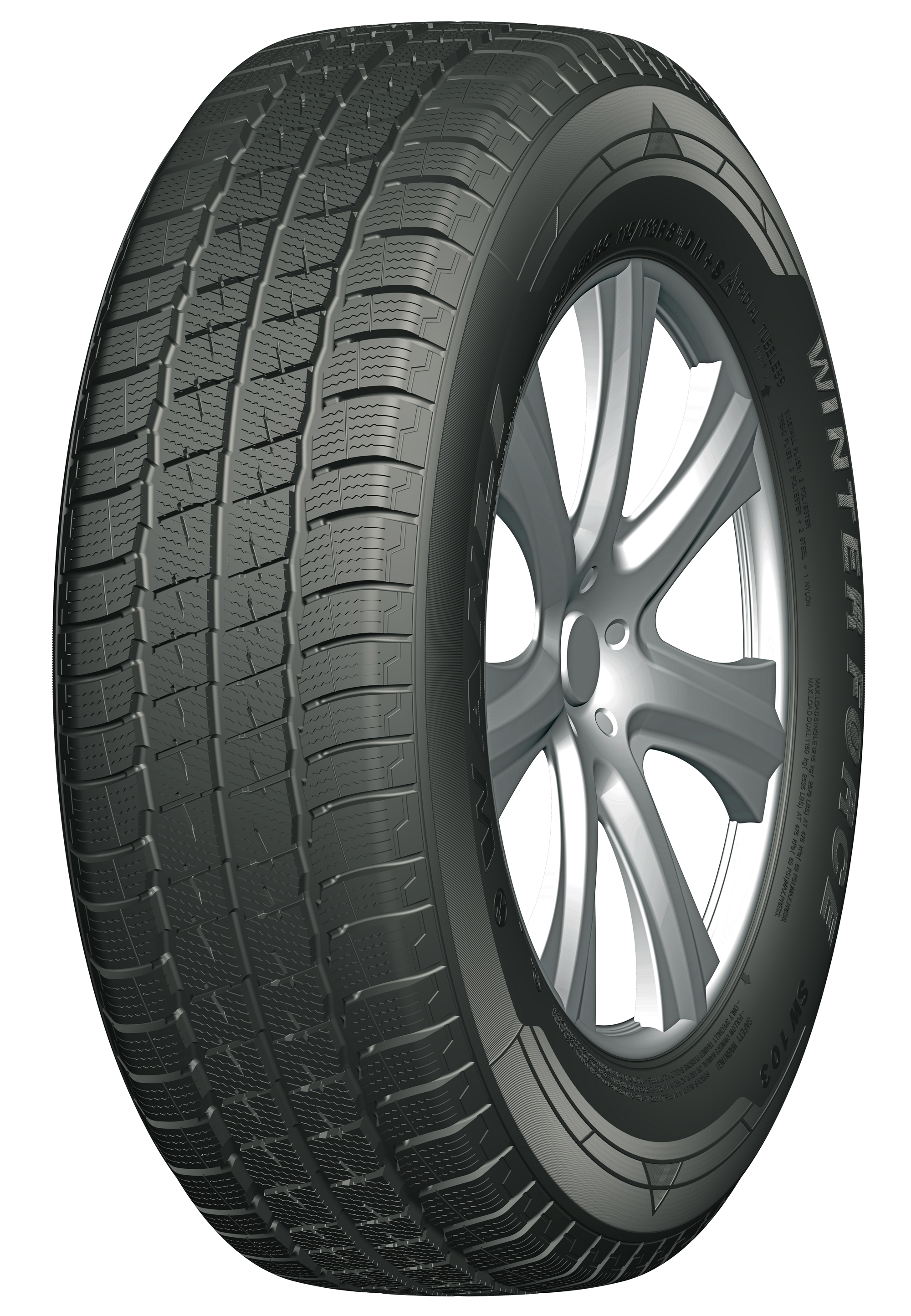 Gomme Nuove Wanli 205/65 R16C 107R SW103 M+S pneumatici nuovi Invernale