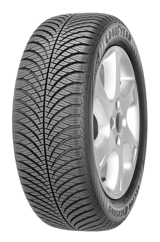 Gomme Nuove Goodyear 225/55 R17 101W VECTOR 4SEASONS GEN-2 XL M+S pneumatici nuovi All Season