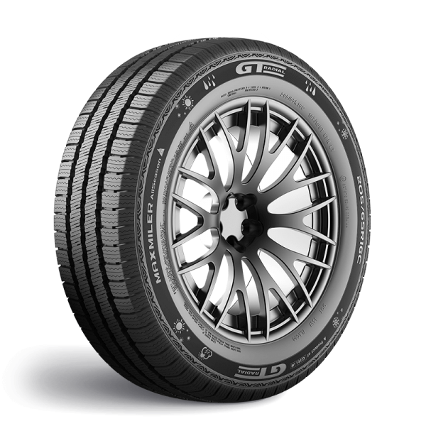 Gomme Nuove GT Radial 225/70 R15C 112/110R MAXMILER AS M+S pneumatici nuovi All Season