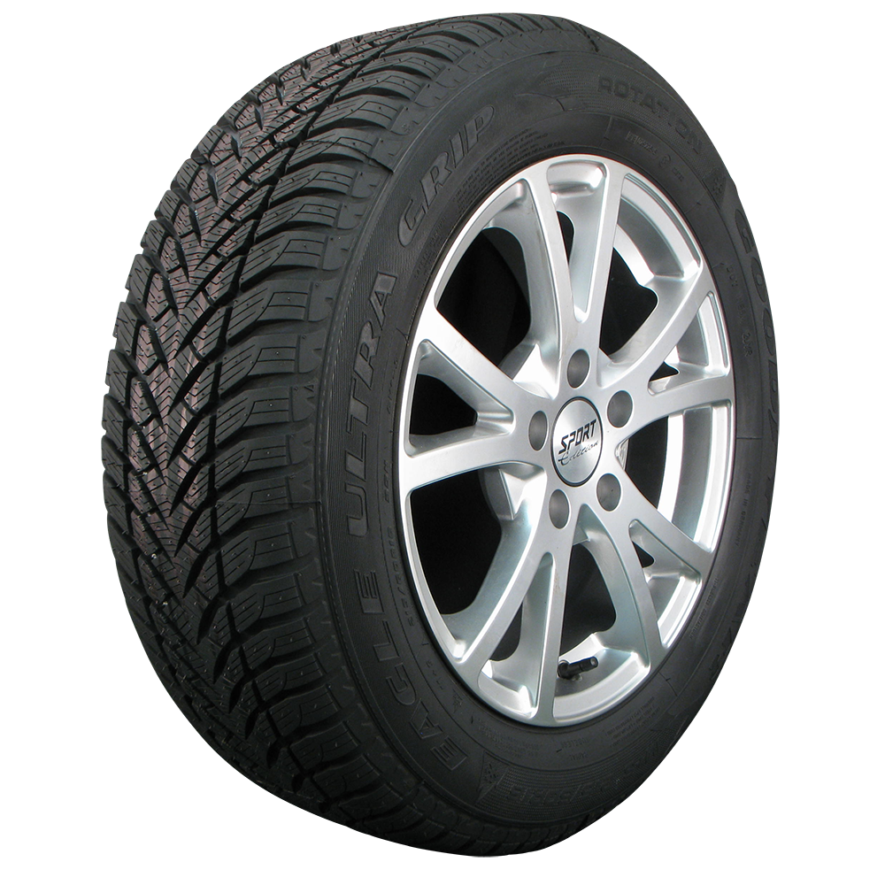 Gomme Nuove Goodyear 205/45 R16 83H UG GW3 M+S pneumatici nuovi Invernale