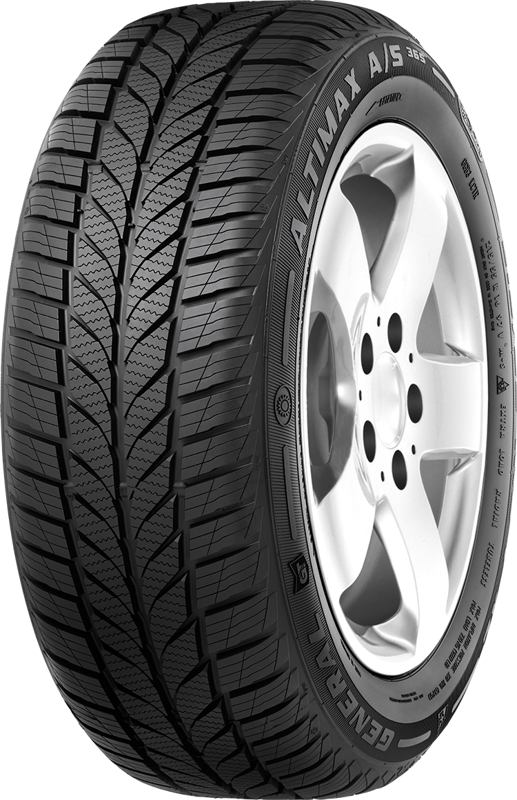 Gomme Nuove General Tire 185/65 R14 86H ALTIMAX A/S 365 M+S pneumatici nuovi All Season