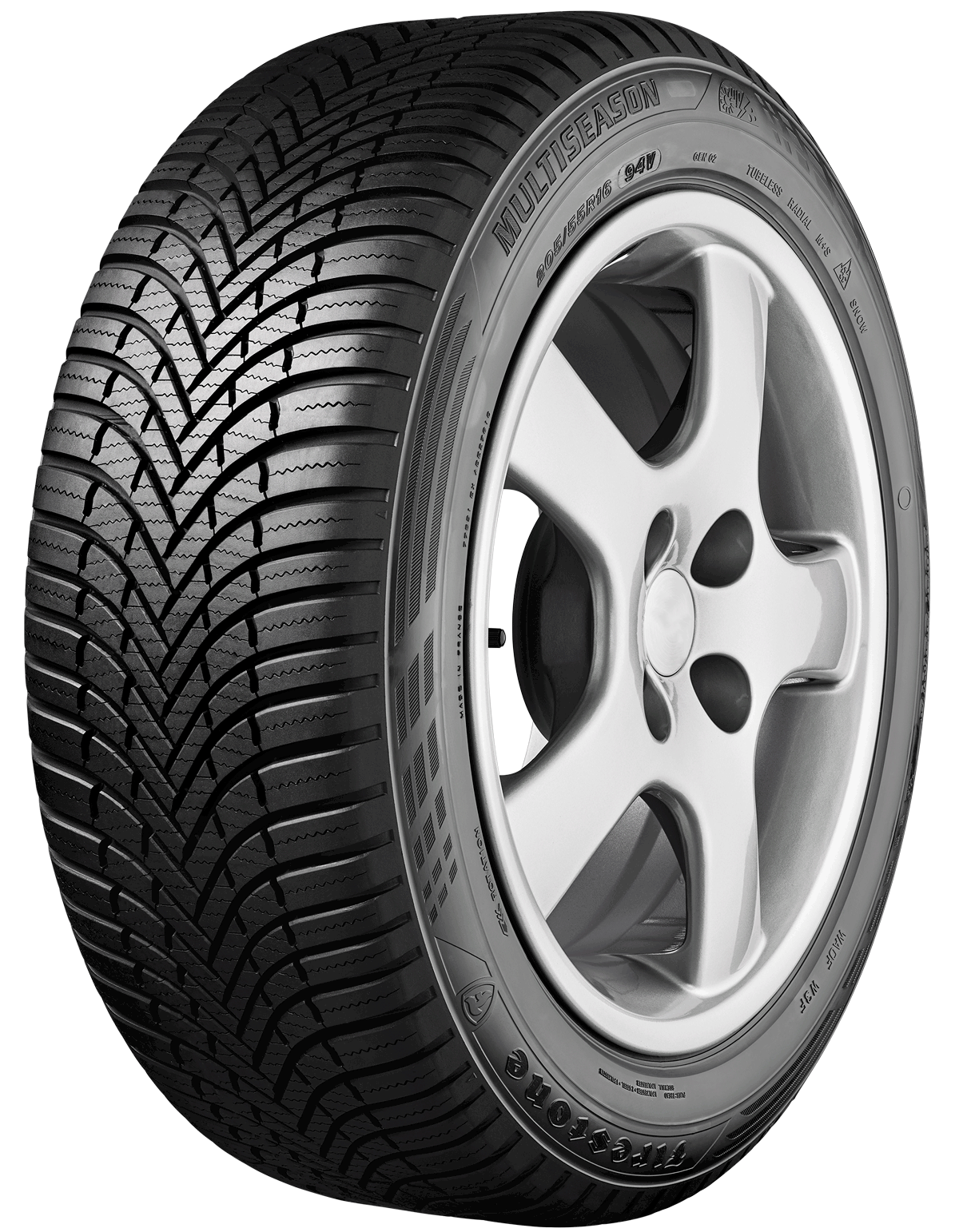 Gomme Nuove Firestone 205/60 R16 96H Multiseasong2 XL M+S pneumatici nuovi All Season