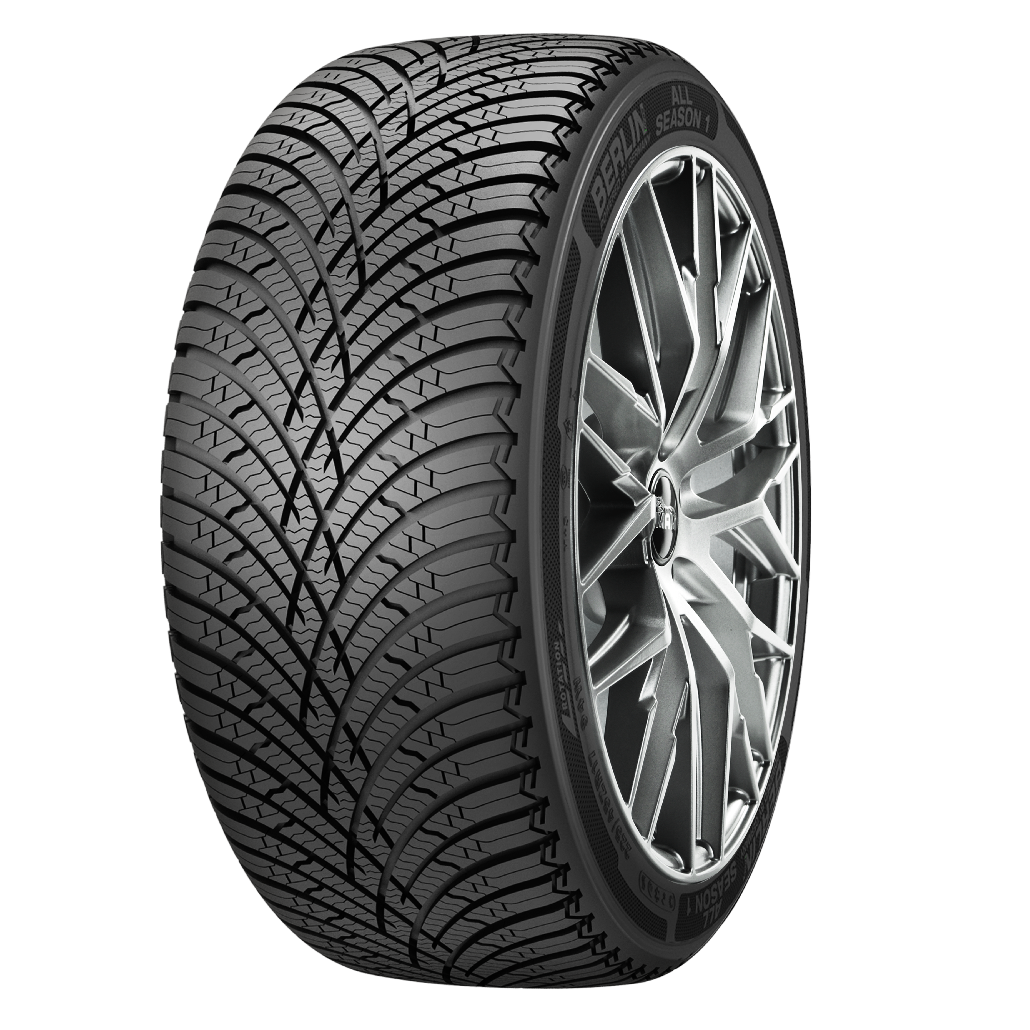 Gomme Nuove Berlin 225/55 R16 95H ALL SEASON 1 M+S pneumatici nuovi All Season