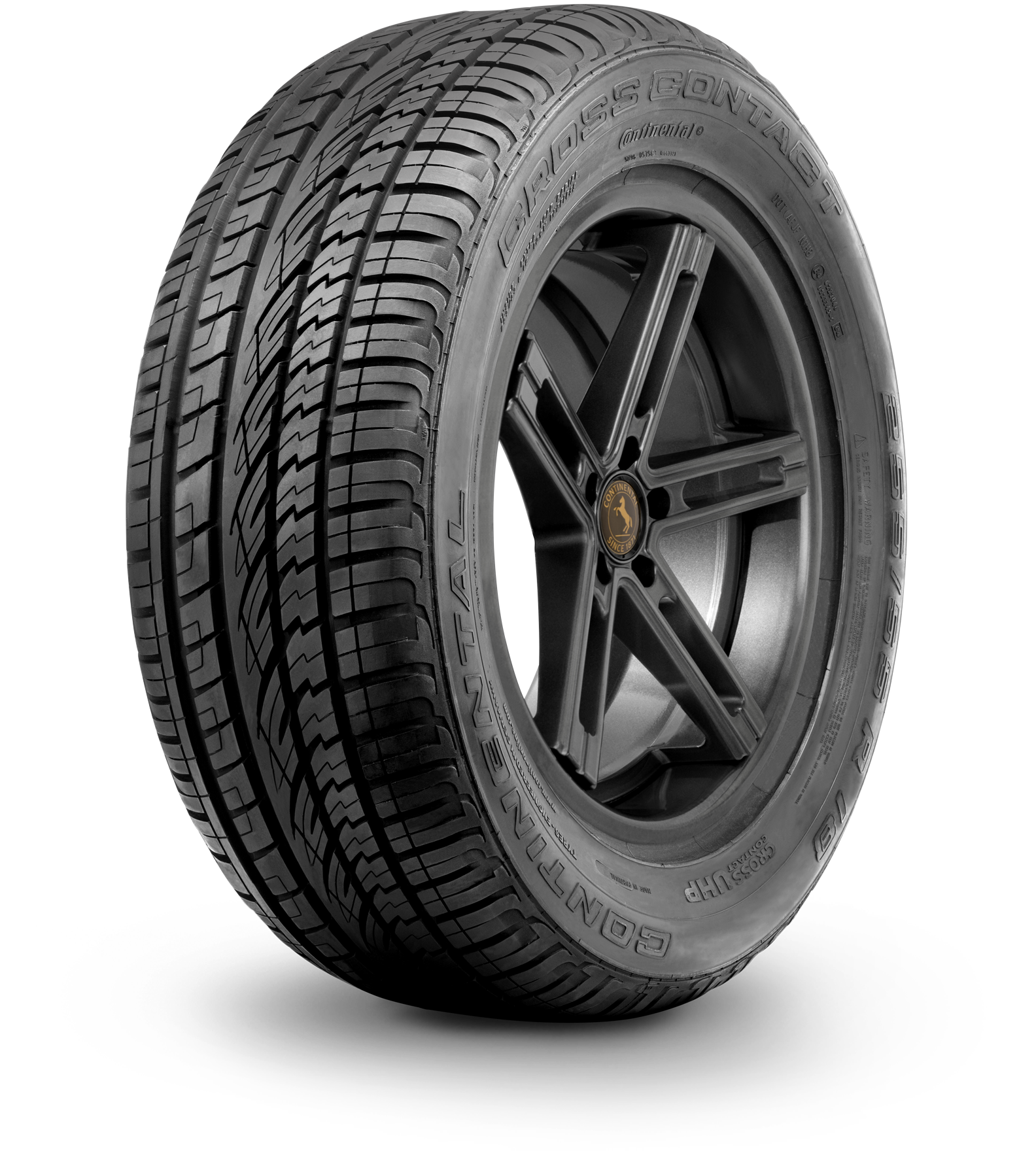 Gomme Nuove Continental 255/50 R19 107V CrossContact UHP SSR * Runflat pneumatici nuovi Estivo