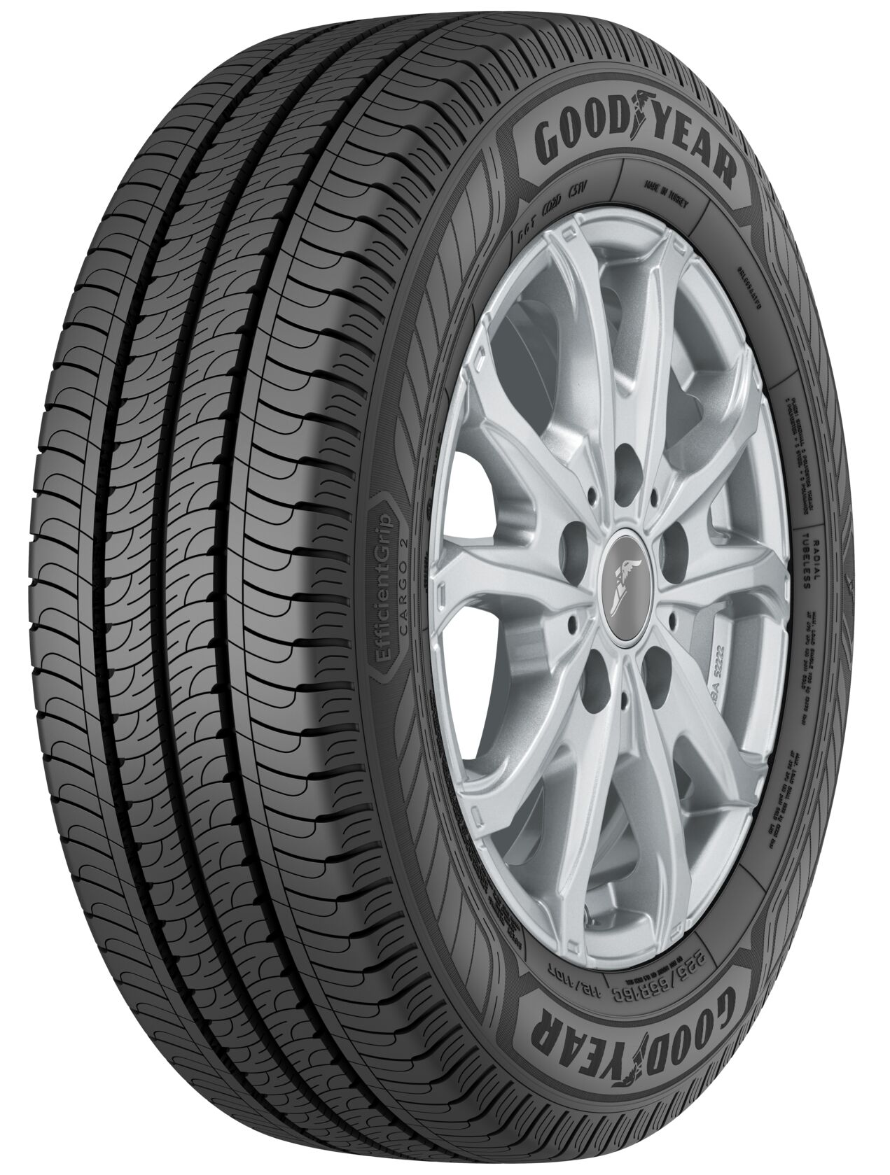 Gomme Nuove Goodyear 225/70 R15C 112S Efficientgrip Cargo 2 M+S pneumatici nuovi All Season
