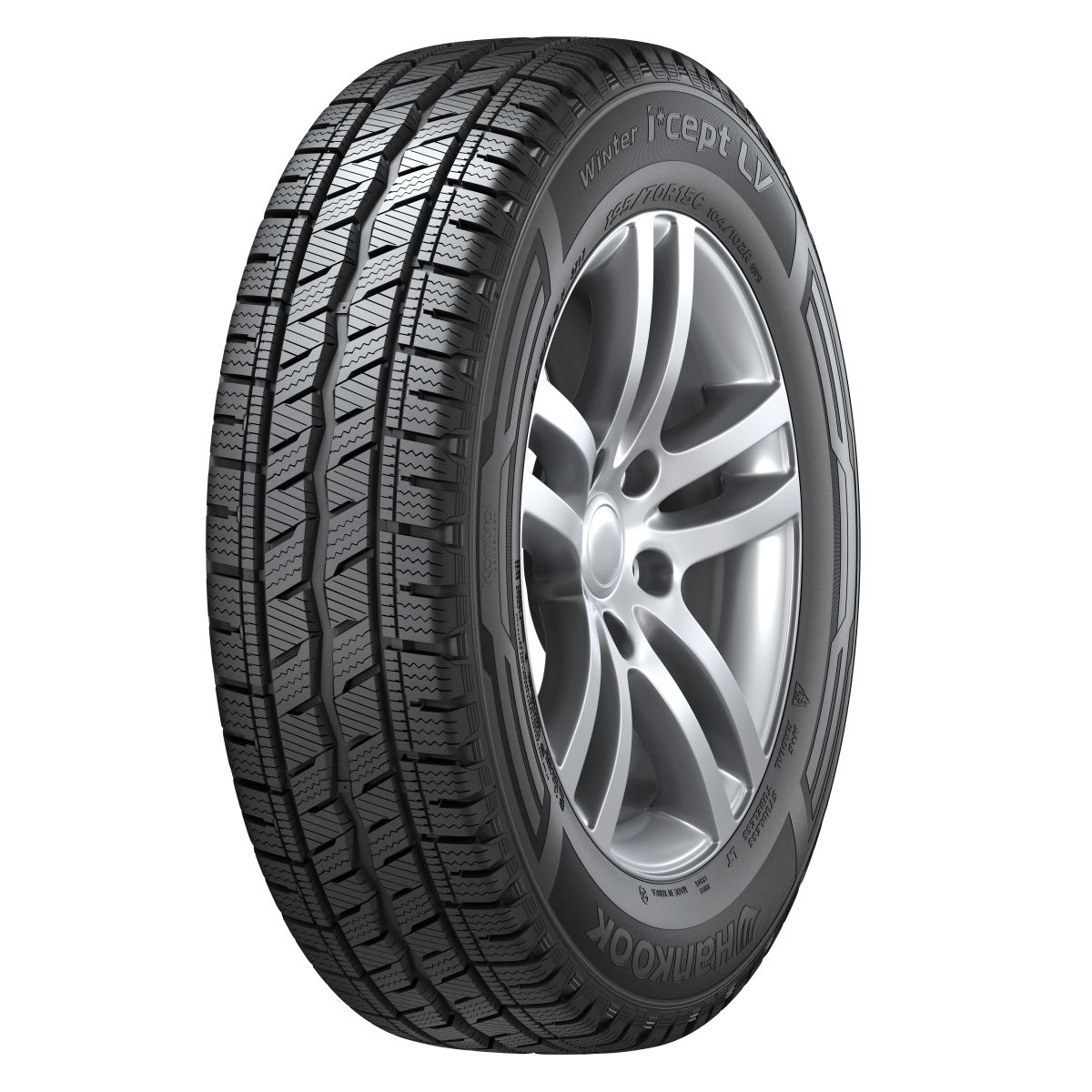 Gomme Nuove Hankook 225/65 R16C 112R ICEPT LV RW-12 pneumatici nuovi Invernale