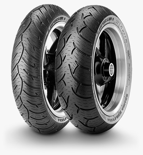 Gomme Nuove Metzeler 120/70 R15 56H FEELFREE WINTEC M+S pneumatici nuovi All Season