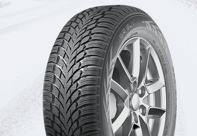 Gomme Nuove Nokian 225/60 R18 104V WR SUV 4 Runflat M+S pneumatici nuovi Invernale