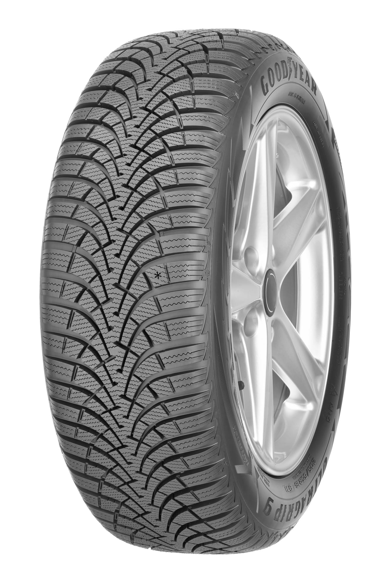 Gomme Nuove Goodyear 195/55 R16 87T ULTRAGRIP 9+ M+S pneumatici nuovi Invernale