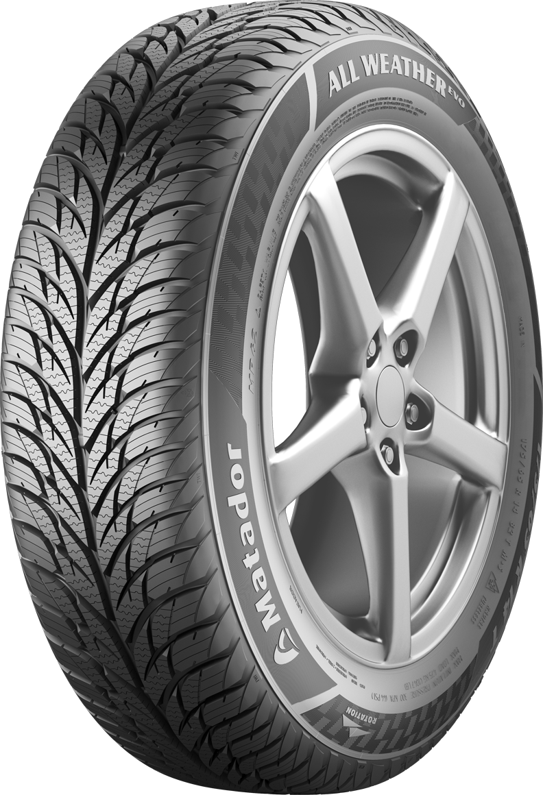 Gomme Nuove Matador 185/55 R15 82H MP 62 ALL WEATHER EVO M+S pneumatici nuovi All Season