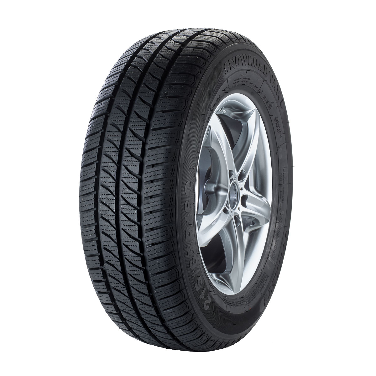 Gomme Nuove Tomket 215/60 R16C 103T 6PR SNOWROAD VAN 3 M+S pneumatici nuovi Invernale