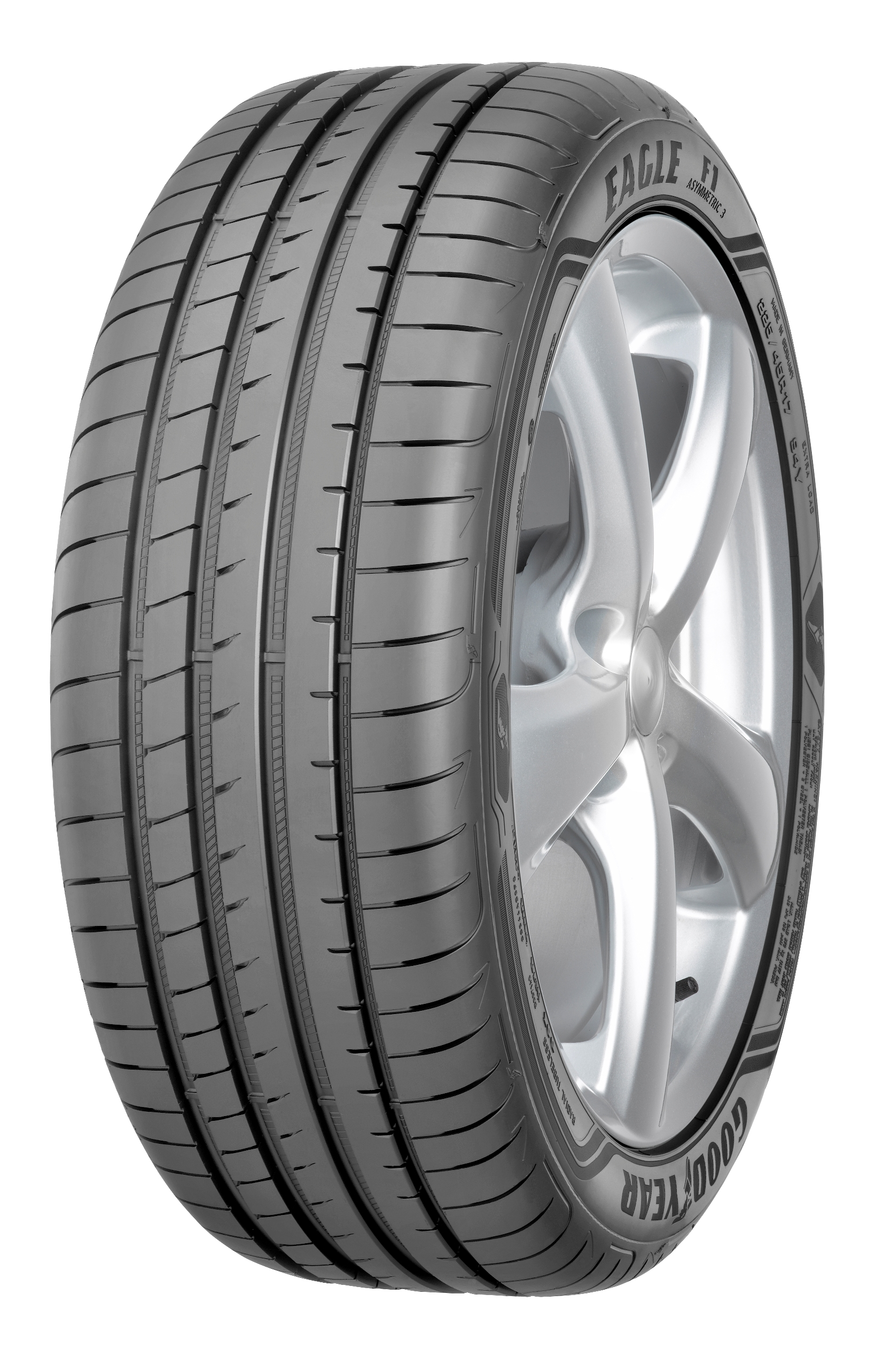 Gomme Nuove Goodyear 225/55 R17 97Y EAGLE F1 ASY 3 MOE * Runflat pneumatici nuovi Estivo
