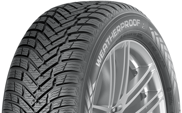 Gomme Nuove Nokian 235/55 R17 103V WEATHERPROOF XL M+S pneumatici nuovi All Season