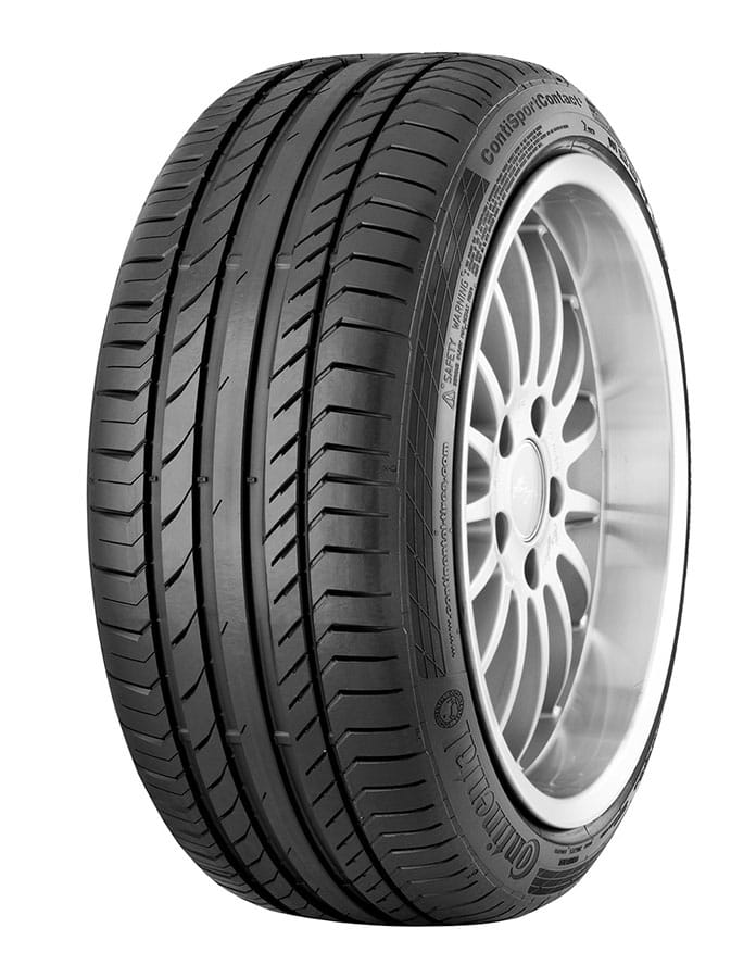 Gomme Nuove Continental 225/45 R18 91Y ContiSportContact 5 SSR * FR Runflat (100%) pneumatici nuovi Estivo