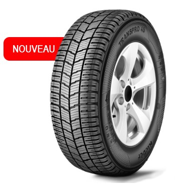 Gomme Nuove Kleber 235/65 R16C 115R TRANSPRO 4S M+S (100%) pneumatici nuovi All Season