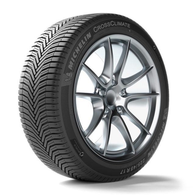 Gomme Nuove Michelin 195/55 R16 91V CROSSCLIMATE+ XL M+S pneumatici nuovi All Season
