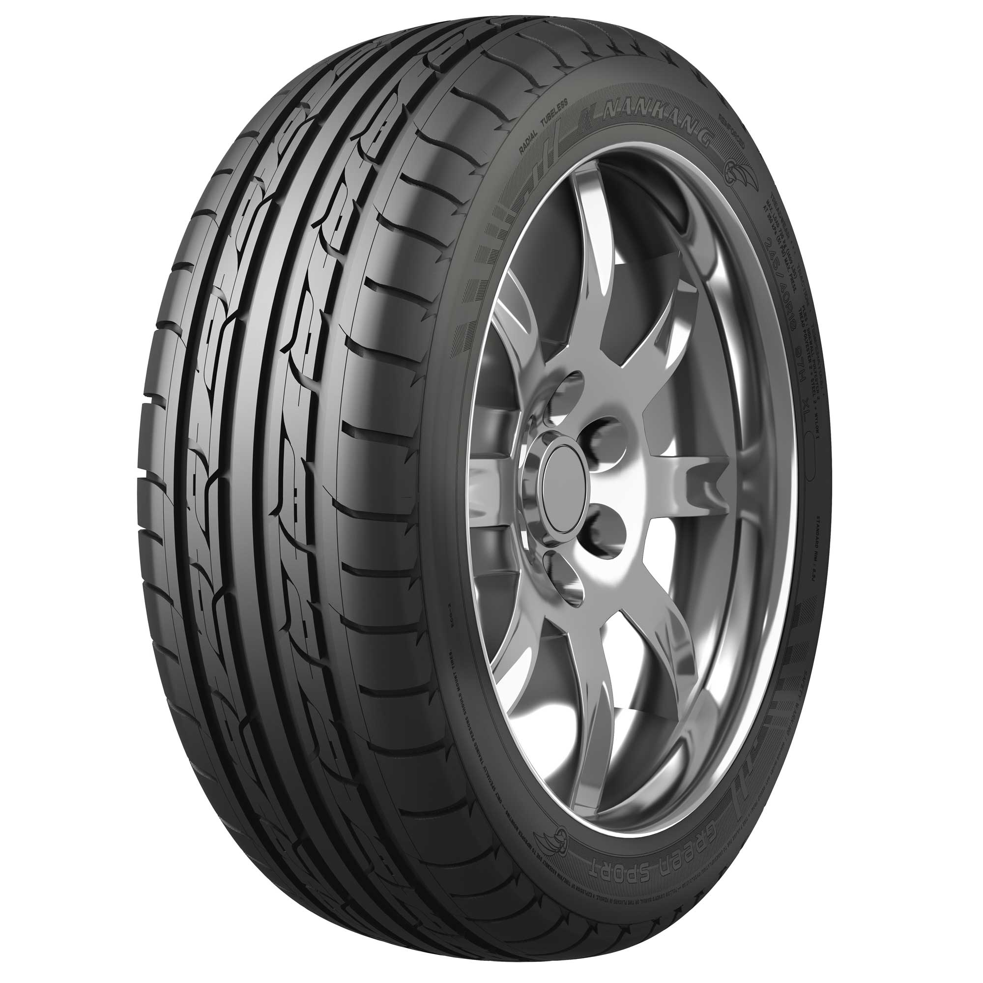 Gomme Nuove Nankang 245/45 ZR19 102Y ECO-2+ XL M+S pneumatici nuovi All Season