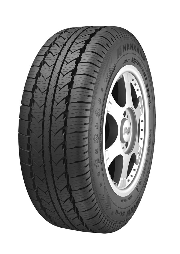 Gomme Nuove Nankang 195/75 R16C 107/105S SL-6 M+S pneumatici nuovi Invernale