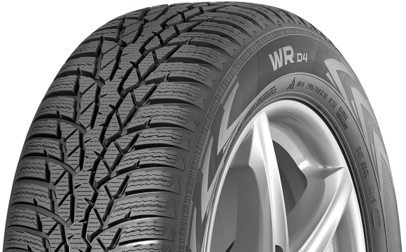 Gomme Nuove Nokian 185/65 R15 88T WR D4 M+S (100%) pneumatici nuovi Invernale