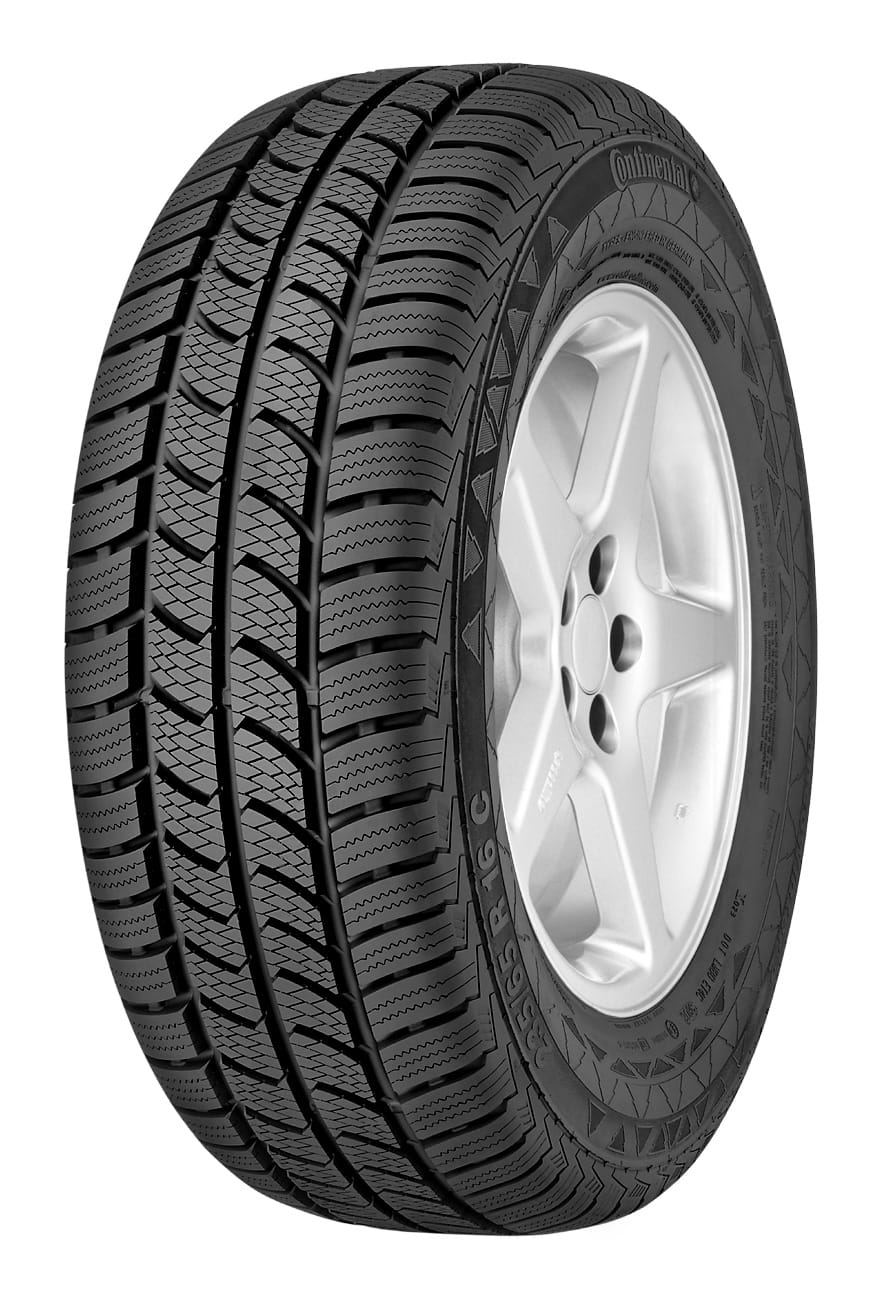 Gomme Nuove Continental 225/75 R16C 116/114R Vancowinter 2 M+S (100%) pneumatici nuovi Invernale