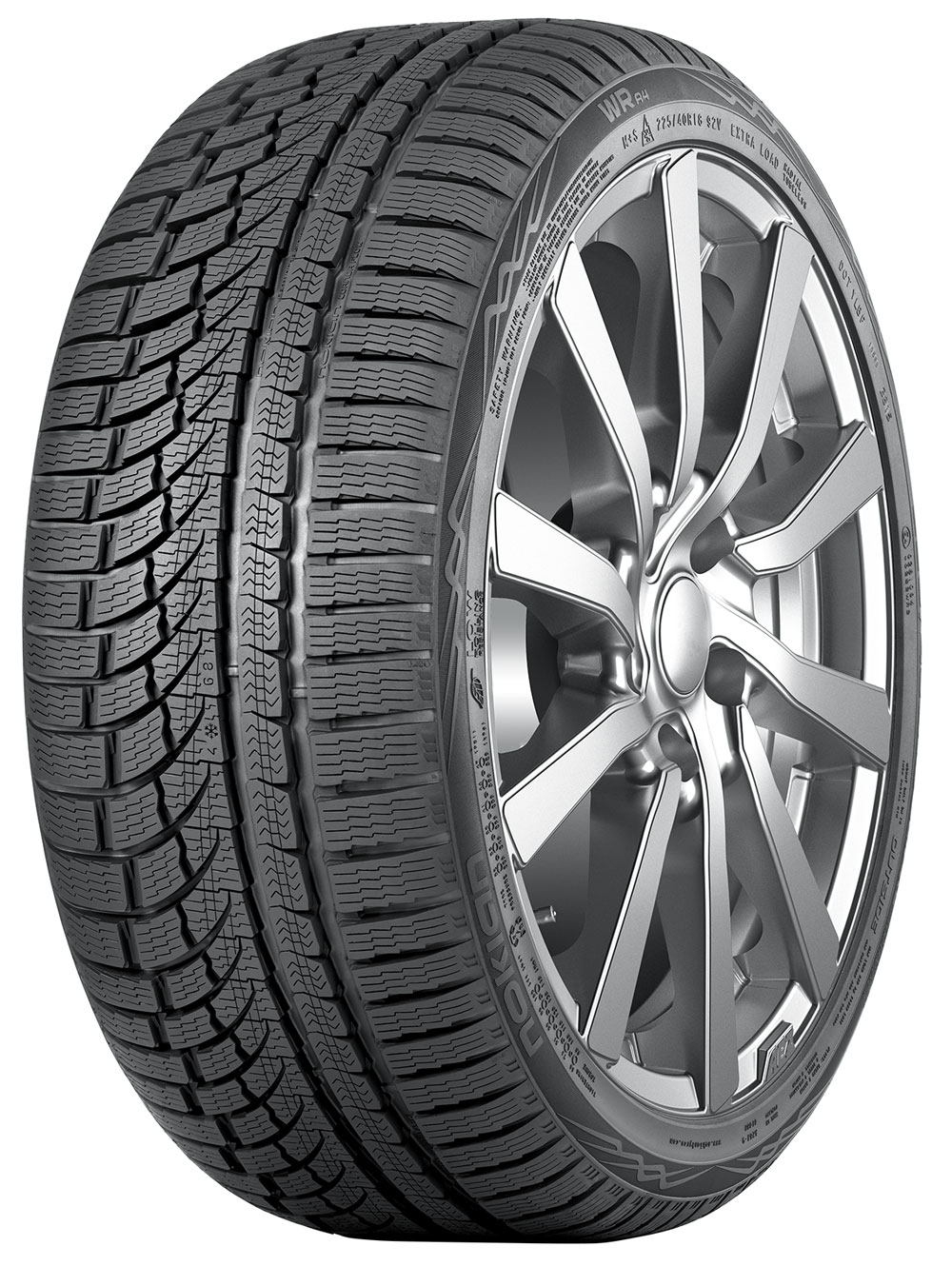 Gomme Nuove Nokian 225/55 R17 101V WR A4 XL M+S pneumatici nuovi Invernale