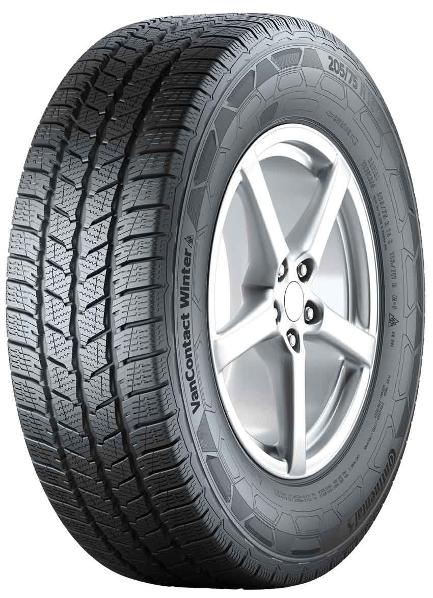 Gomme Nuove Continental 195/60 R16C 99/97T VANCONT.WINTER M+S pneumatici nuovi Invernale